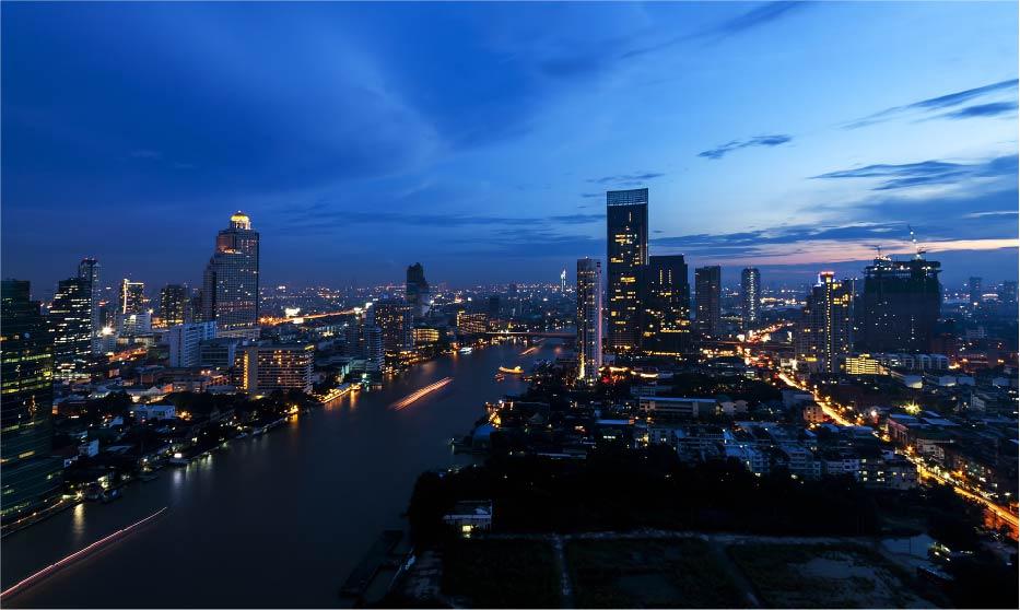 Bangkok Attraction Chaophraya Cruise