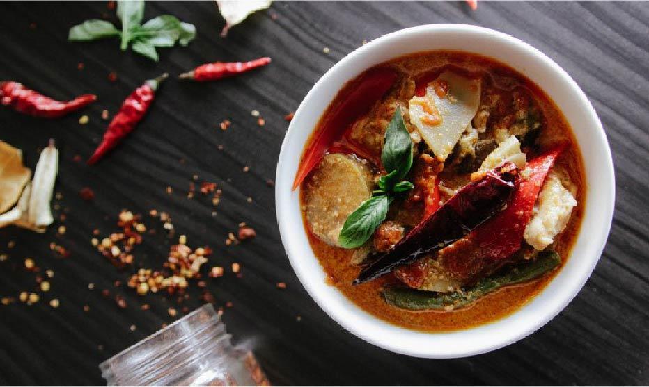 Bangkok Attraction Thai Food