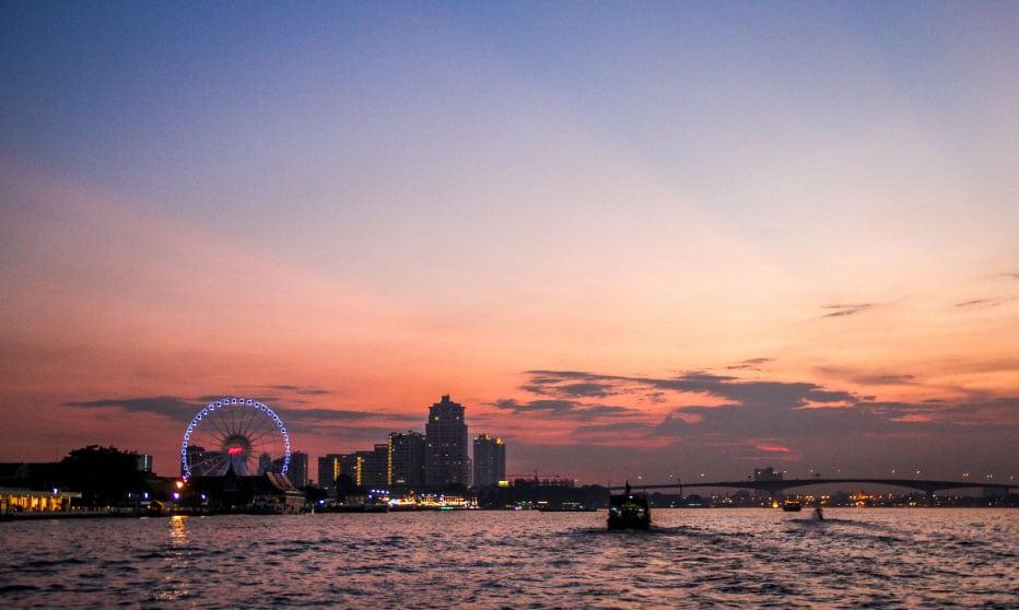 Bangkok Attraction Chaophraya River